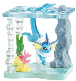 Pokémon World Shining Sea terrarium Vaporeon
