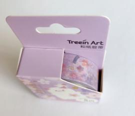 Sakura washi tape kat paars