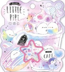 Stickerzakje Little Pipi Kamio Japan