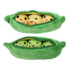 Pea in Pod 23 CM Groen of Geel