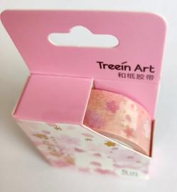 Sakura washi tape kat roze