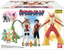 Pokémon Scale World Hoenn Treecko & Grovyle