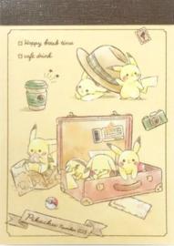 Pokémon Pikachu Travel memoblok