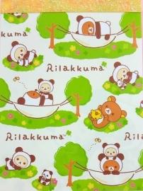 Rilakkuma Panda Relax memoblok klein