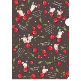 Sentimental Circus Cherry File Folder