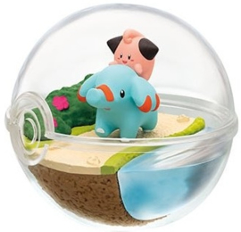 Pokémon Terrarium collectie 7 Cleffa & Phanpy