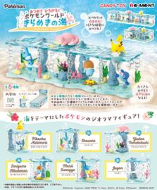 Pokémon World Shining Sea terrarium hele set