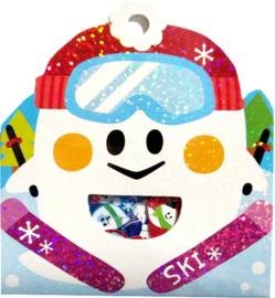 Ski winter stickerzakje