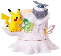 Pokémon Forest 6 Shinpi Kagayaku Basho Pikachu & Carbink