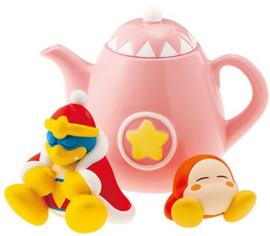 Kirby Re-ment Tea Time King Dedede & Tea Pot