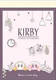 Kirby memoblok afternoon