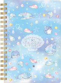 Jinbesan Pearl Spiraal Notebook