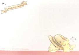 Pokémon Pikachu Travel memoblok klein