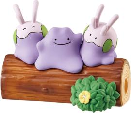 Pokémon Nakayoshi Friends boomstam Ditto & Goomy