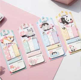 Shiba sticky notes pakket