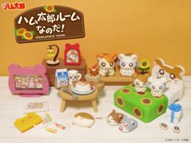 Hamtaro Room Re-ment set compleet miniatuur figuren