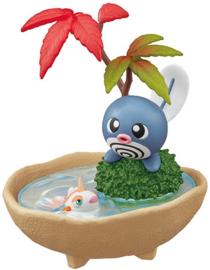 Pokémon Re-ment Bonsai Poliwag en Goldeen