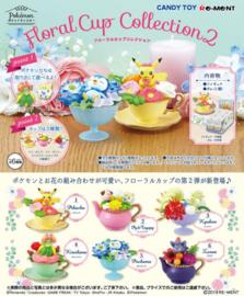 Pokémon Re-ment Floral Cup Collectie 2 hele set