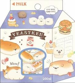 Yeast Ken stickerzakje Kamio Japan