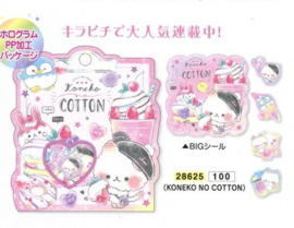 Stickerzakje Koneko No Cotton Kamio Japan