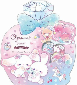 Oyasumi Bunny Stickerzakje Qlia