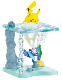 Pokémon World Shining Sea terrarium Pikachu & Popplio