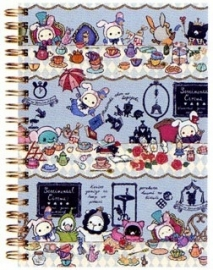 Sentimental Circus Alice Spiral notebook