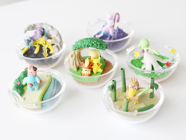 Pokémon Terrarium collectie 7 Raikou
