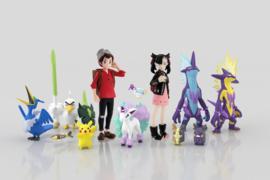 Pokémon Scale World Bandai Galar Victor