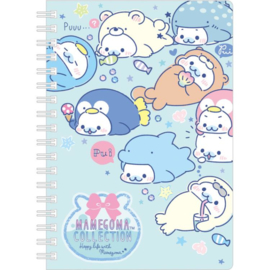 Mamegoma Costume Spiral Notebook
