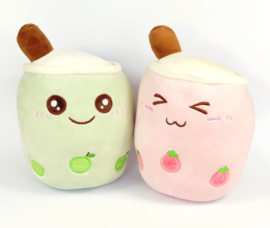 Bubble tea Plush Groen Appel Boba