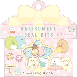 Sumikko Gurashi stickerzakje roze San-x