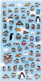Stickervel penguin