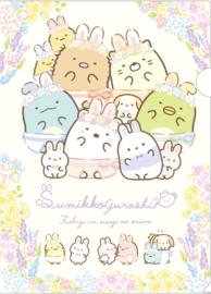 Sumikko Gurashi lente file folder insteekmap