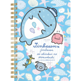 Jinbe-San Jellyfish Spiral Notebook