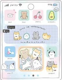 Juicy stickerzakje Kamio Japan