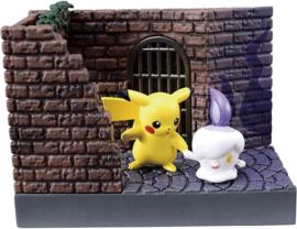 Pokémon Re-ment Back Alley Pikachu & Litwick