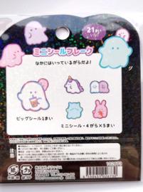 Spooky kawaii ghost stickerzakje Crux