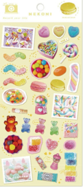 Snack Candy Nekoni stickervel