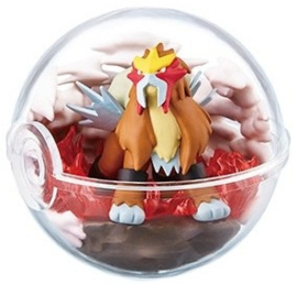 Pokémon Terrarium collectie 6 Entei