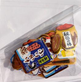Japan eten stickerzakje