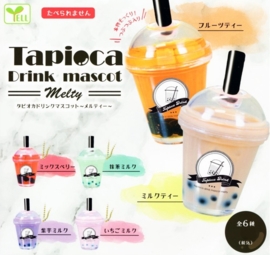 Gashapon Bubble tea of Boba sleutelhanger verrassing