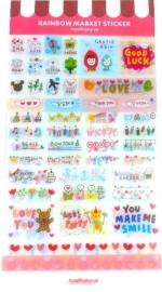 Agenda stickerpakket (6 vellen)