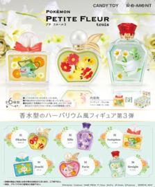 Pokémon Terrarium Collectie Petite Fleur versie 3 hele set