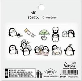 Stickerzakje Nekoni Penguin