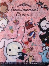 Sentimental Circus insteekmap roze