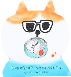 Kat zonnebril Stickerzakje