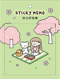 Sticky Notes groene picknick