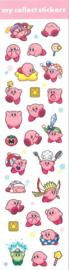 Kirby stickervel roze