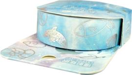 Blauw zee thema Washi tape